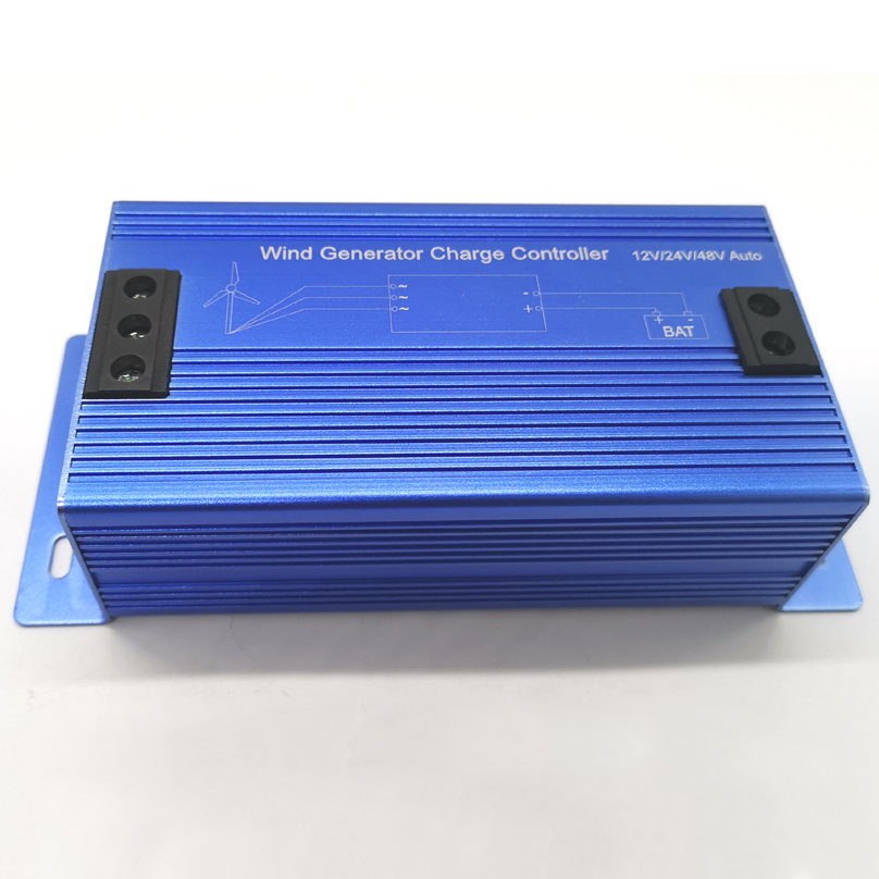 600W Wind Charge Controller for 600W Wind Generator 12V 24V 48V Auto Battery Controller Max 800W