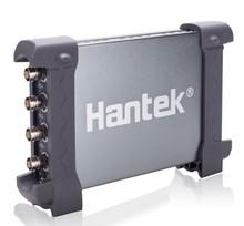 Новое поступление Hantek 6104BC ПК USB осциллограф пропускная способность 100 мГц 4 независимых аналоговых Каналы 2 мВ-10 В/div Вход чувствительность