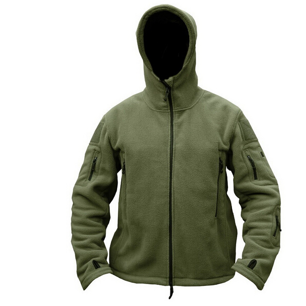 Man Fleece Tactical Softshell Jacket  1