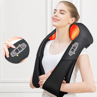 Home Car Electric Massager U Shape Shiatsu Cervical Back and Neck Massager Multifunctional Infrared Heated Massage Relax Machine