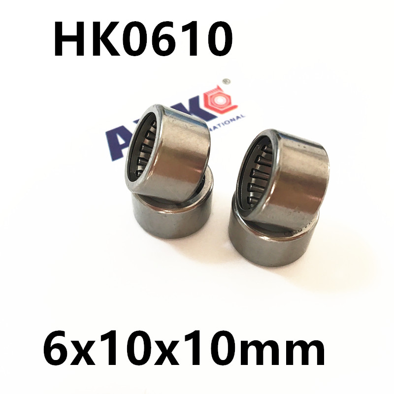 HK061010 HK0610 57941/6 Drawn Cup Type Needle Roller Bearing 6x10x10mm  Free shipping High Quality free shipping drawn cup needle roller bearing hk1718 hk0709 hk2220 hk0812 ta1729 hk0612 hk1008 hk1812 hk1010 hk1212