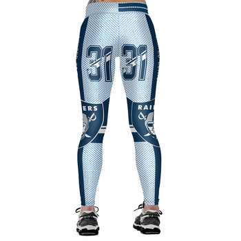 Unisex Football Team Raiders 31 Print Tight Pants Workout Gym Training Running Yoga Sport Fitness Exercise Leggings Dropshipping 1