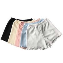 S-5XL Soft Seamless Short Pants Women Summer Under Skirt Shorts Plus Size Ruffle Breathable Short Tights For Girl Safety Shorts цена в Москве и Питере