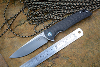 CH Brand 3510 VG10 Blade Quality Knife Ball Bearing Washer Survival Knife Camping Hunting Knife Gear