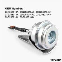 Wupp турбо зарядные устройства и Запчасти турбо предохранительный клапан турбины для автомобиля Вакуумный привод разгрузочного клапана турбонаддува для VW для AUDI TurbochargerJun11