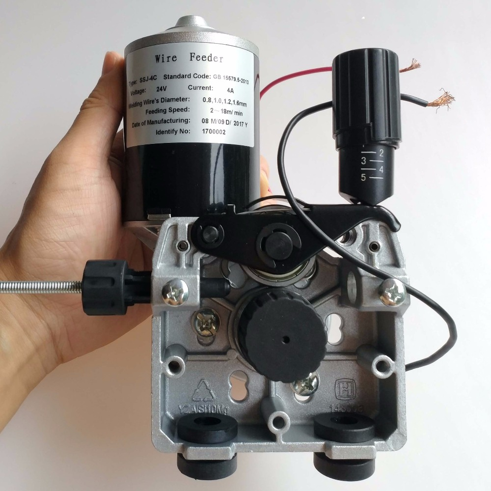 Professional Welding Wire Feeder 24V Wire Feed Assembly 0.8-1.0mm/.03-.04