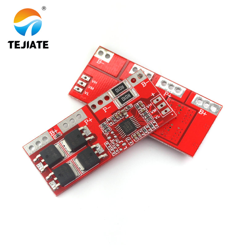 4S 30A 14.4V 14.8V 16.8V Current Li-ion Lithium Battery 18650 BMS Charger Protection Board image