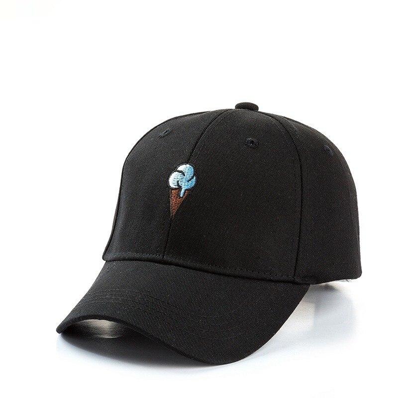 VORON 2017 New Cotton Hat Ice Cream Embroidered Baseball Cap for Men and Women Sun Hat Snapback Caps Cotton Canvas Dad Hats bone para bordar
