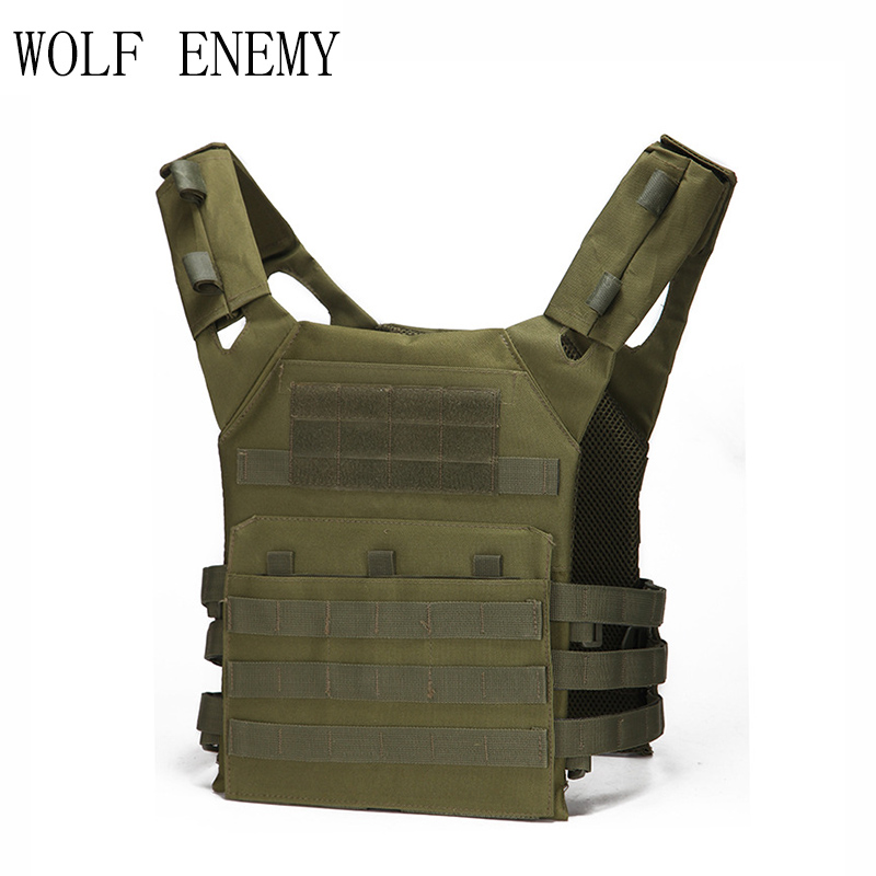 Tactical JPC Plate Carrier Vest Ammo Magazine Body Armor Rig Airsoft Paintball Gear Loading Bear System Army Hunting Clothes wosport military hunting vest enhanced tactical 500dnylon molle jpc shooting game body armor rig plate carrier airsoft paintball