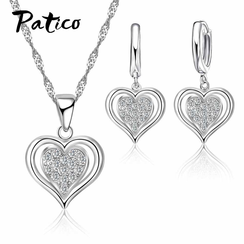 Sweet Double Heart Pendant...