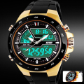 relogio masculino Skmei Men Sports Watches Waterproof Fashion Casual Quartz-Watch Digital S Shock Military Sports Men's Watches