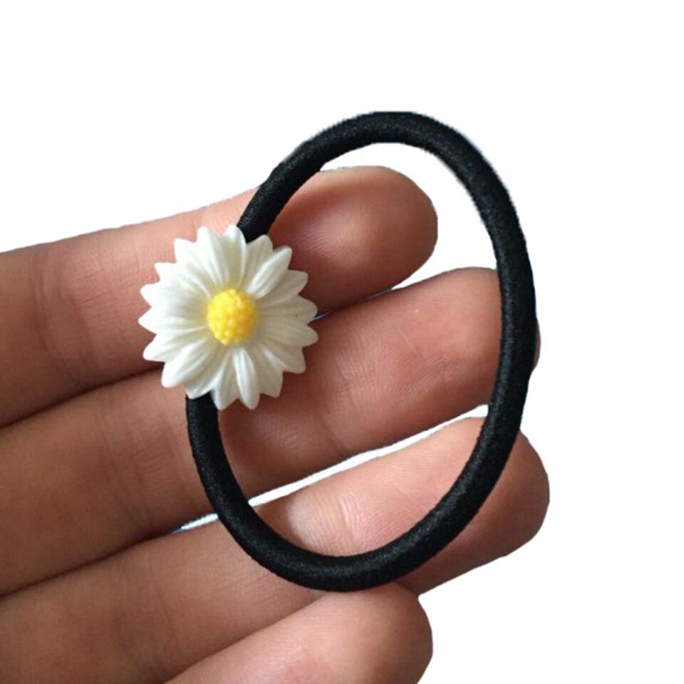 Daisy Flower Elastic Hair Bands Different Types Of Hair Band Elastic Hairband Girls Hair Accessories for Women