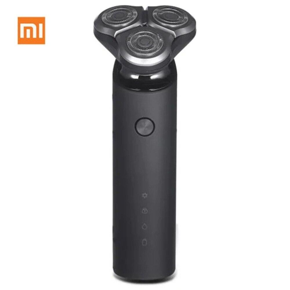 Xiaomi Mijia rasoir électrique Rechargeable 360 degrés flotteur 3D rasage couteau dicyclique électrique rasage barbe Machine rasoir Turbo +