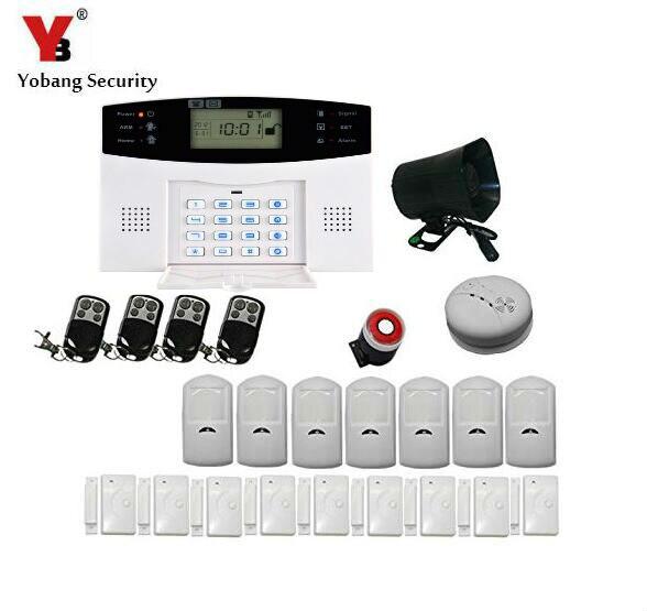 Yobang Security Yobang Security SECURITY WIRELESS SIM GSM HOME OFFICE INTRUDER GSM ALARM system yobang security wireless gsm