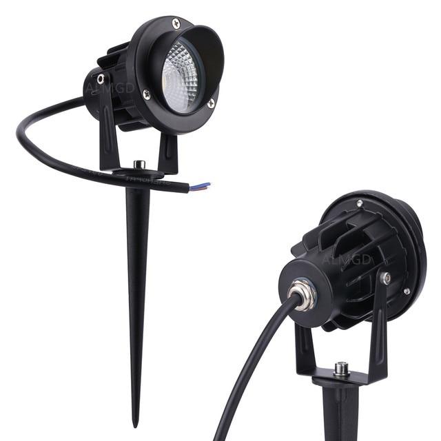 Wholesale Outdoor Landscape Lamp 220V 110V 3W 5W 7W 10W LED Garden Light Spot Lawn Lamps LED Garden Spike Lights Yard Path light