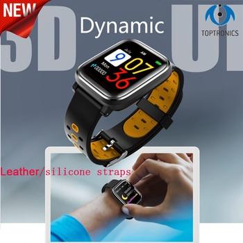 2018 Fashion Smart watch 3D dynamic UI IP 67watherproof man women watches with 200mAh battery 1.3inch screen for boy girl gifts