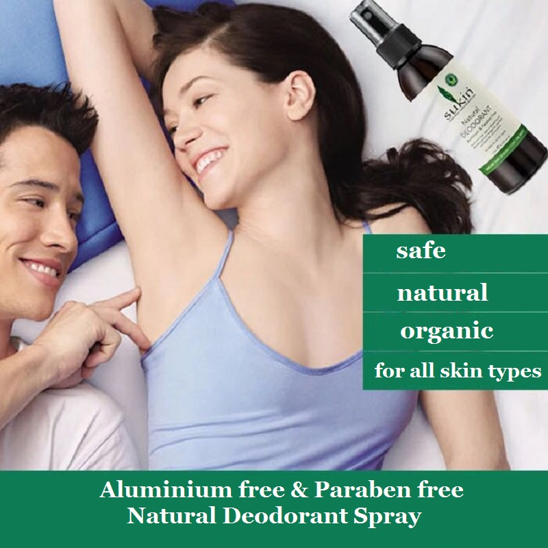 Australia Sukin Aluminium & Paraben Free Deodorant Spray Organic Natural Effective Leave Smell Fresh & Clean Eliminate Odour