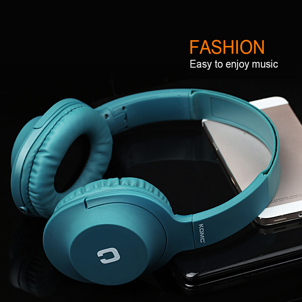 Original Wired Earphone for Phones Foldable Headsets with Strong Bass AUX Cable for Computer Headphones with Mic