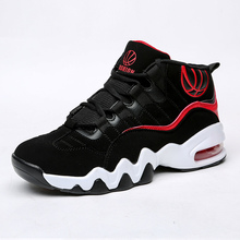 2016 High Top Basketball Shoes for Men New Arrival Air Basketball Boots Anti-Slippery Sneakers Basketball Men Basketball Shoes