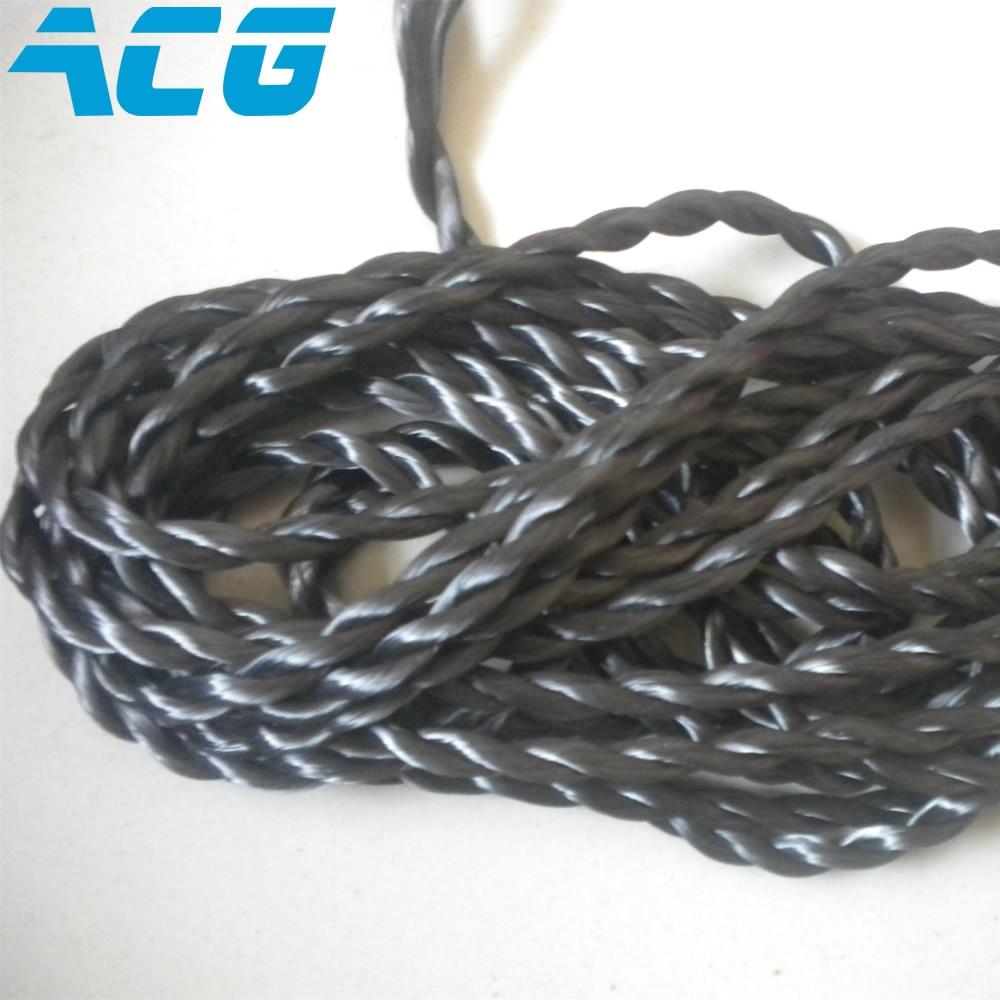 carbon fiber rope electrical conductivity high temperature resistant ...