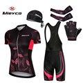 Mieyco Frauen Quick Dry Radfahren Jersey Set Sommer Anti Uv Mountainbike Radfahren Kleidung Anzug Atmungsaktiv Fahrrad Radfahren Kleidung-in Fahrrad-Sets aus Sport und Unterhaltung bei