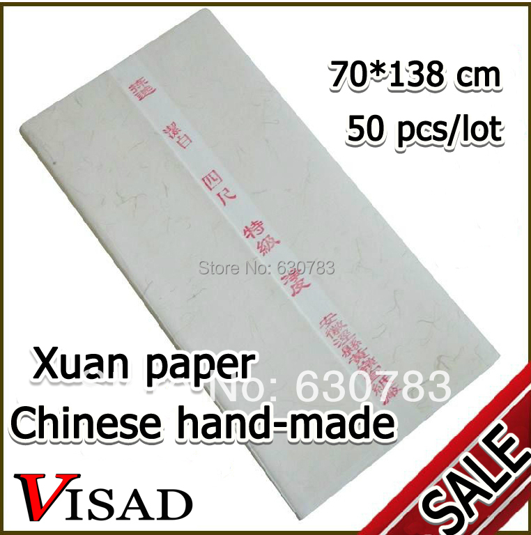free shipping 50 pcs/lot 70*138cm Chinese xuan paper for artist Painting & Calligraphy,traditional hand made rice painting paper top chinese hemp paper hand made traditional rice paper for painting calligraphy artist supplies