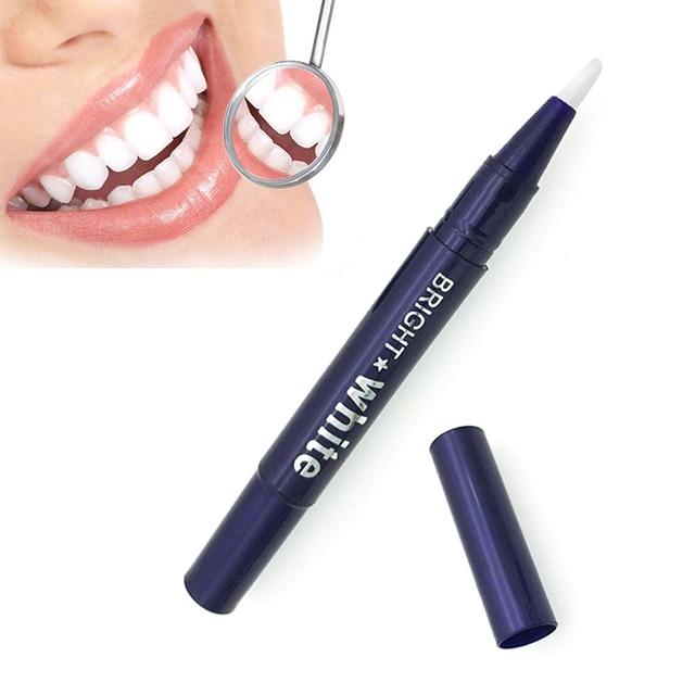 Portátil 1 pc pluma blanqueadora de dientes Gel blanqueador pluma seguro rápido blanqueamiento de dientes quitar las manchas para blanquear los dientes Kit Dental TSLM2