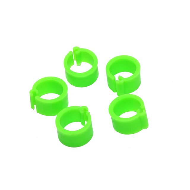 200 Pcs 8 MM Pigeon Foot Ring Color Identification Rings 6