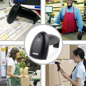 Image 5 - USB Lettore di Codici A Barre, Symcode 1D Laser Handheld USB Cablata Barcode Scanner