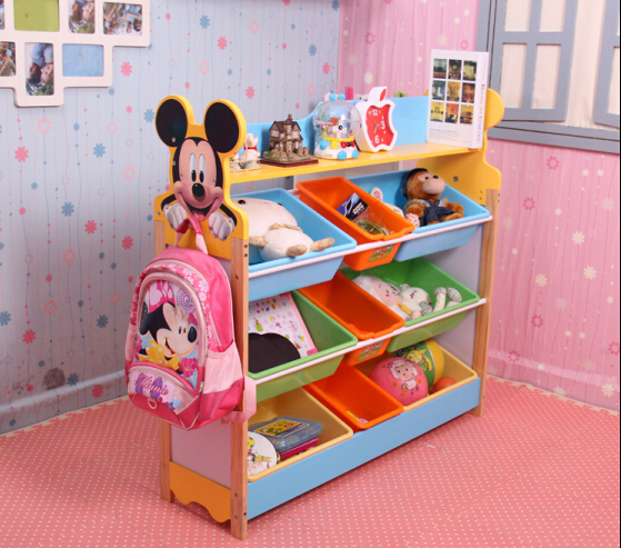 Ordinaire Kids Plastic Toys Shelf Baby Wood Toy Storage Rack Wooden Shelves For Toys  Plastic Toys Rack