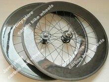 carbon tubular track bike wheels single speed bicycle wheels 700C fixed gear in stock