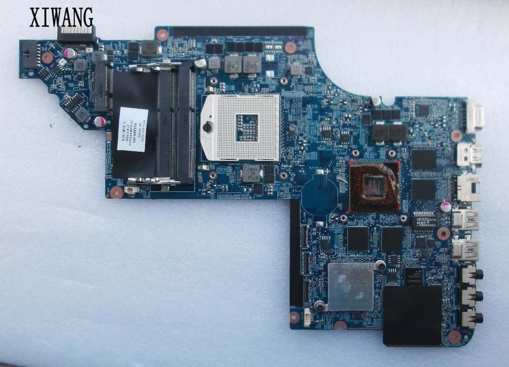 Free shipping DV7-6000 laptop motherboard 655489-001 for hp Pavilion DV7 DV7-6100 System Board - HM65 DSC 6770/2G 100%Tested! free shipping 480365 001 for hp pavilion dv7 dv7 1000 motherboard laptop for intel board 100%full tested ok