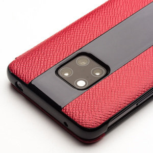 Image 5 - QIALINO Fashion Genuine Leather Flip Cover for Huawei Matte 20 RS Luxury Handmade Case with Smart Window for Huawei Mate 20 Pro