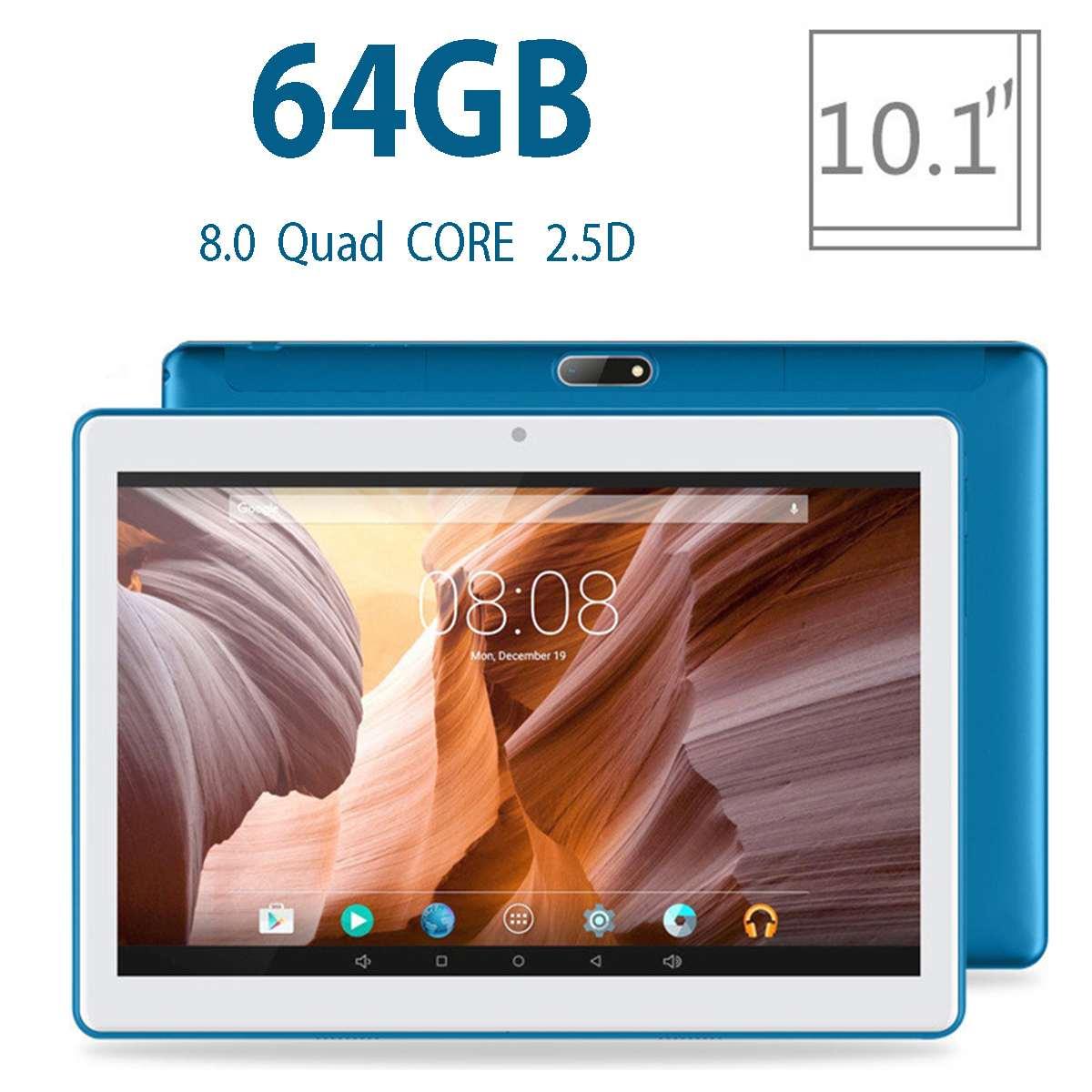 2019 nouveau Android 8.0 tablette PC 8 cœurs 10.1 pouces 2560*1600 résolution d'écran WiFi GPS bluetooth 4.0 tablettes numériques