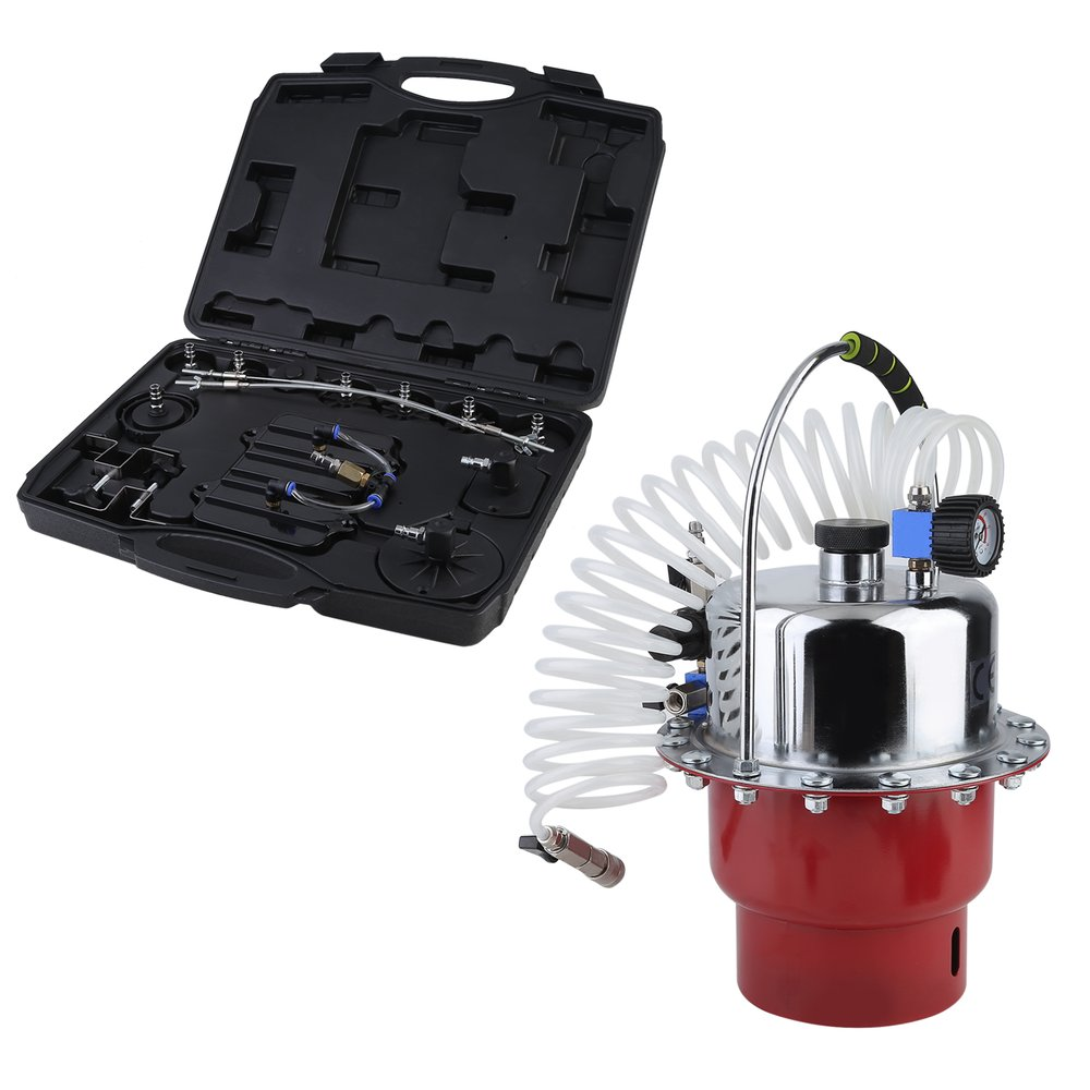 Car Brake Fluid Exchanger Auto Repair Tools Pneumatic Pressure Bleeder Set Professional Brake Clutch System Device