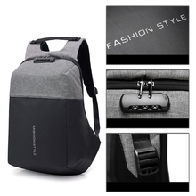 Anti-theft Backpack Laptop Bag Men Women 15.6 Notbook Waterp