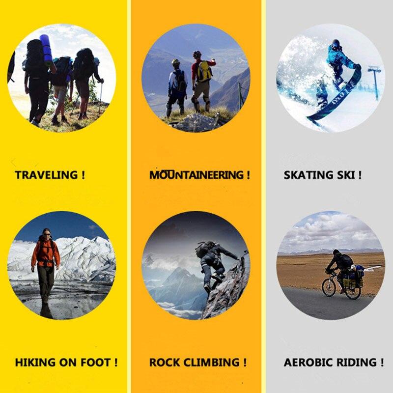 Kids Boys Girls Winter Thermal Ski Snow Skiing Hiking Sports Stretch Warm Socks