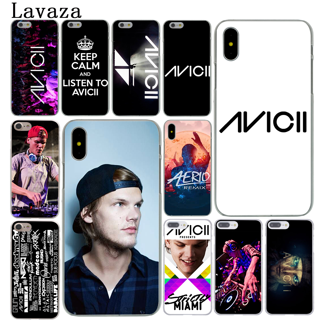 Lavaza Avicii DJ Tim Bergling Hard Coque Phone Shell Case for Apple iPhone X 8 7 6 6S Plus 5 5S SE 5C 4 4S 10 Cover