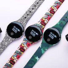 Bluetooth Smart часы Дети OLED Цвет экран IP67 Водонепроницаемый Фитнес браслет интеллектуальный счетчик шагов Smartwatch для IOS Android