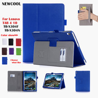 tab4-10-tb-x304-protective-shell-magnet-smart-leather-case-for-lenovo-tab-4-10-tb-x304f-tb-x304n-flip-cover-tablet-case