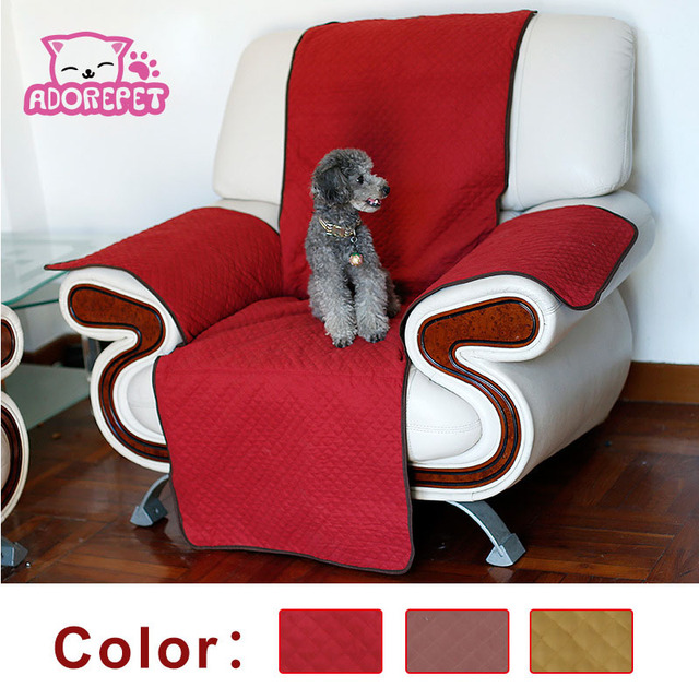 Single Chair Protector Dog Sofa Cover For Pet Nonslip Couch Furniture Protection Cat