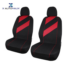 X Autohaux Unique Flat Cloth Front Rear 8PCS/Set Of Auto Car Seat Cover For Interior DIY Decoration Car Seat Protection Covers