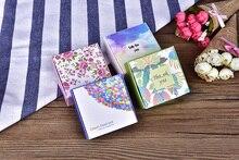 Caja de papel con diseño de flor de primavera para decoración, pequeño regalo para navidad, regalos de boda, 50 Uds.