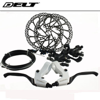DELT 26 27 Inch Mountain Bike Bicycle Disc Brake Control Line Wind Up 160MM Disc Brakes