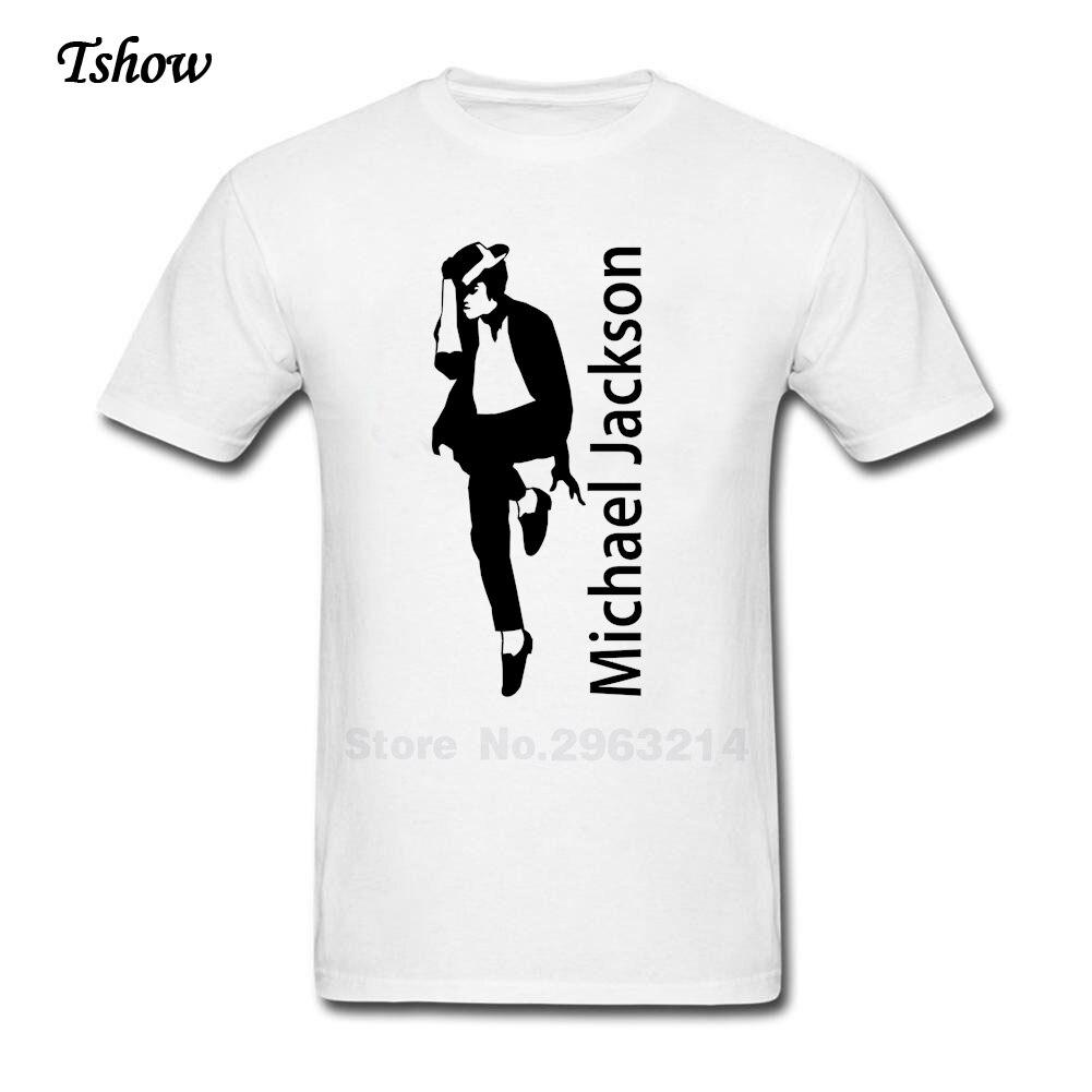 Black t shirt michaels - Michael Jackson T Shirt Men Leisure Summer Print Pure Cotton Man S Clothes O Neck Short Sleeve T Shirt Male S Shirt