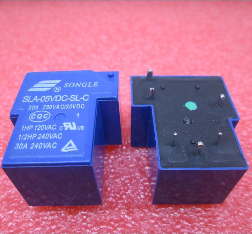 HOT NEW relay SLA-05VDC-SL-C SLA-5VDC-SL-C SLA05VDCSLC 05VDC 5V 5VDC DC5V 30A 250VAC 6PIN hot new relay hf6 73 5v hf6 relays 5v 5vdc dc5v 5v sop 2pcs lot