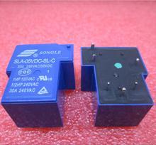 חם חדש ממסר SLA 05VDC SL C SLA 5VDC SL C SLA05VDCSLC 05VDC 5 V 6PIN 5VDC DC5V 30A 250VAC