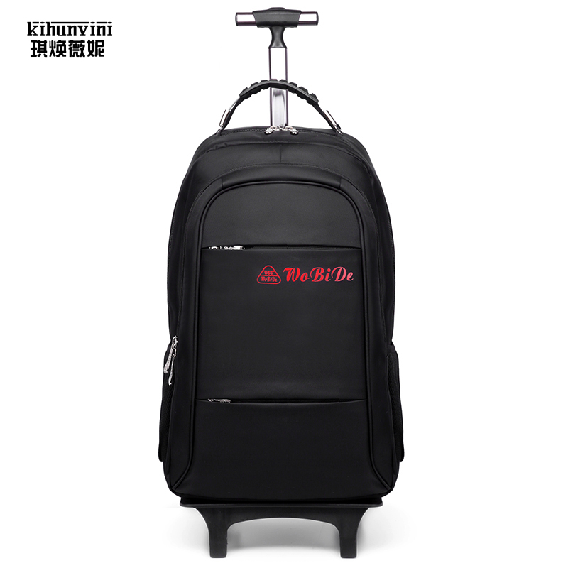 Unisex Detachable Trolley Backpack Men Big Travel Bag Pack Women Multi-function Back Pack For Trip Luggage Bags Case New Arrival 14 15 15 6 inch flax linen laptop notebook backpack bags case school backpack for travel shopping climbing men women