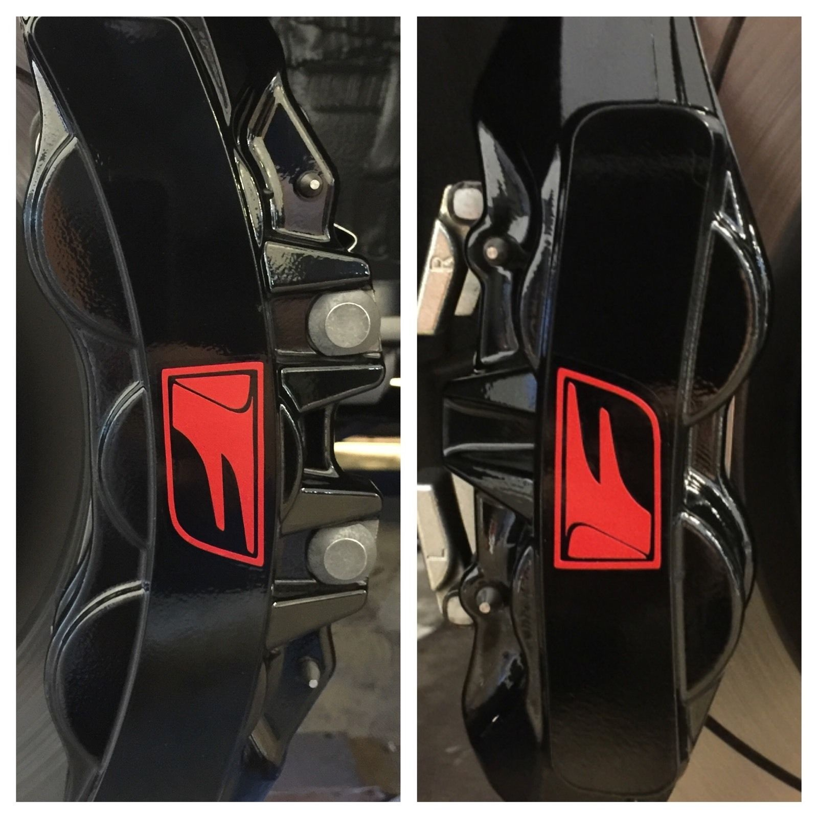 For 8pc 2016 Lexus Gs F Brake Caliper Vinyl Sticker Decal
