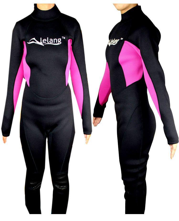 Men women sbr 3mm diving suit snorkel suit wet suit for Women s ice fishing suit